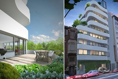 Appartement (82 m²) op de derde verdieping in nieuwbouwproject Green Tower