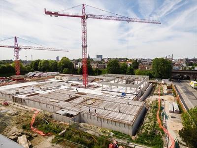 Nieuwbouwkantoren,kantoorachtigen,polyvalente ruimtes nabij UZ Gent