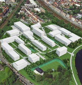 Nieuwbouwkantoorruimtes / polyvalente ruimtes nabij UZ Gent