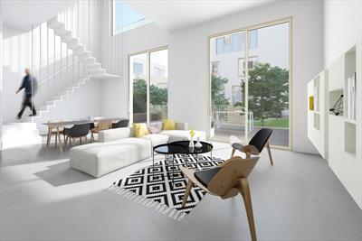 Exclusief 3 - slaapkamerappartement met eigen verdieping en 3 badkamers. Rust en luxe in de Gentse binnenstad