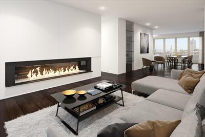 Uniek 2 - slaapkamerappartement met 2 terrassen, ruim dakterras en 3 eigen verdiepingen. Rust en luxe in de Gentse binnenstad