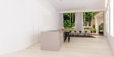 Superieur en exclusief 2 - slaapkamerappartement met ruim terras. Rust en luxe in de Gentse binnenstad