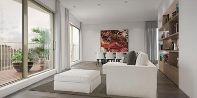 Ruim penthouse met prachtig dakterras. Rust en luxe in de Gentse binnenstad